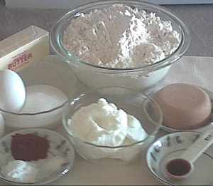 ingredients for cookie bouquets
