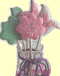 Homemade Bouquet of Cookies for Mothers