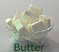 Butter is fat