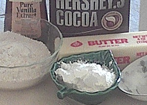 My easy Oreo cookie recipe calls for these ingredients