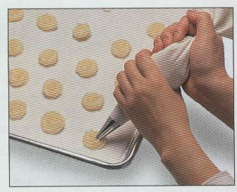 Piping bag cookies recipe