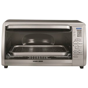 5. 10 Best Small Oven Reviews Black & Decker Stainless Steel Countertop