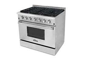 6. Thor Kitchen Pro-Style Gas Range