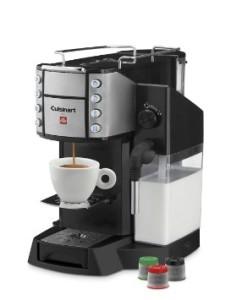 Cuisinart EM-600 Single Serve Espresso Caffe Latte Machine, Black