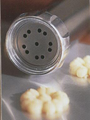 aA cookie press and spritz cookies
