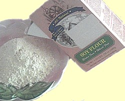 soy flour for a gluten free diet