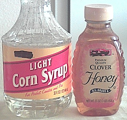 syrup and honey are also sweeteners
