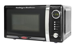 1. 3 Best Retro Microwave Reviews Nostalgia Electronics RMO770BLK Retro Series