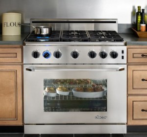 9. Dacor Epicure Gas Range