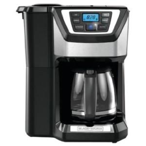 Black & Decker CM5000B 12-Cup Coffeemaker, Black