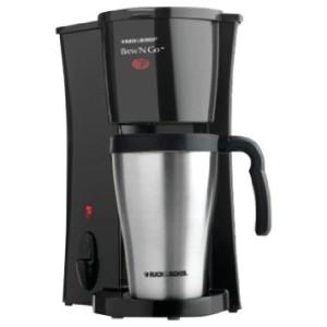 Black & Decker DCM18S Brew'nGo Personal Coffeemaker