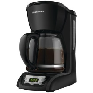 Black & Decker DLX1050B 12-Cup Programmable Coffeemaker, Black