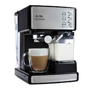 Mr. Coffee Cafe Barista EspressoMaker Automatic milkfrother, BVMC-ECMP1000