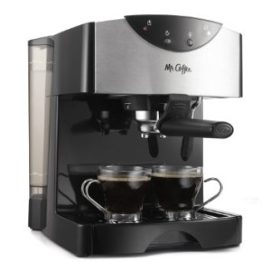 Mr. Coffee ECMP50 EspressoCappuccino Maker, Black
