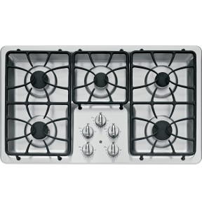 GE JGP633SETSS 36 Stainless Steel Gas Sealed Burner Cooktop