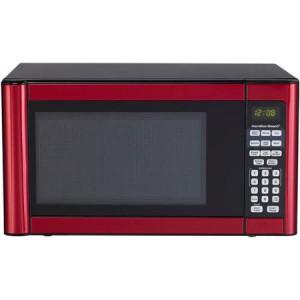 Hamilton Beach 11 Cu Ft Microwave Red